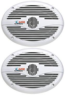 BOSS Audio MR690 350 Watt , 6 x 9 Inch, Full Range, 2 Way We