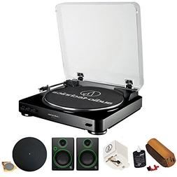 Audio-Technica Fully Automatic Stereo Turntable System, Blac
