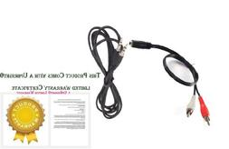 UpBright New Aux In Audio Cable Stereo Cord For Samsung Soun