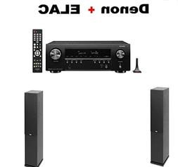Denon AV Component Receiver  + Pair of ELAC F6.2 2.0 Floorst