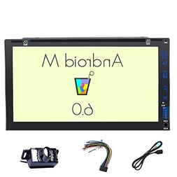 Backup Camera included!!! Android 6.0 Double Din Car Stereo
