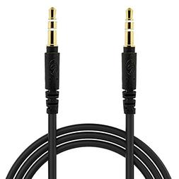 BargainPort Black Color Universal 3.5mm Auxiliary Stereo 4 F