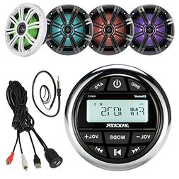 16'-25' Bay Boat Kicker Marine System Includes: CD Receiver