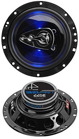BOSS Audio BE654 300 Watt , 6.5 Inch, Full Range, 4 Way Car