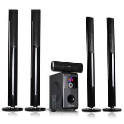 BLUETOOTH 5.1CH HOME THEATER SURROUND SOUND STEREO SPEAKER S