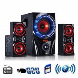 beFree Sound BFS-99X 2.1 CHANNEL Surround Sound BLUETOOTH Sp