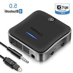 CARANTEE Bluetooth 5.0 Transmitter Receiver, aptX Acc Low La