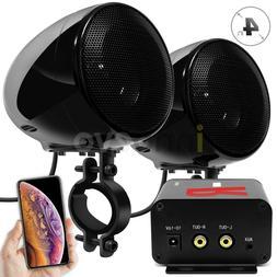 Bluetooth Amplifier Motorcycle ATV Speakers Waterproof Stere