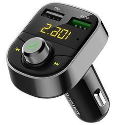 Darythem Bluetooth FM Transmitter for Car, Wireless Radio Tr