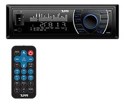 Pyle Bluetooth Marine Receiver Stereo - 12v Single DIN Style