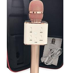 Bluetooth Microphone Wireless Karaoke Mic Portable Handheld