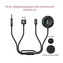 POWER PRIMACY Bluetooth Receiver 4.1 Car AUX Wireless Hands-