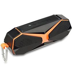Jspliton Bluetooth Speaker,IPX7 Waterproof Portable Wireless