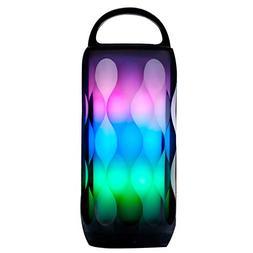 Bluetooth Speakers Portable LED Light Wireless Bluetooth Spe