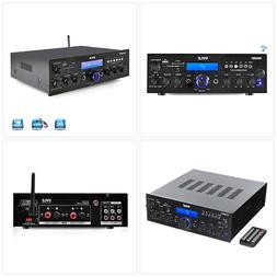 Bluetooth Stereo Amplifier Receiver Compact Home Theater Dig