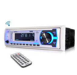 Bluetooth Stereo Radio Boat Marine Receiver AM FM System Wir