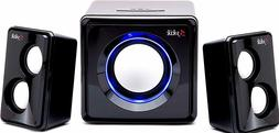 Bluetooth Stereo Speaker System 2.1 Ch Multimedia Subwoofer