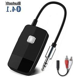 Giveet Bluetooth V4.1 Audio Receiver, Wireless Portable Blue