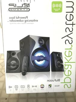 Klip Xtreme BluFusion 2.1 Channel Stereo System & Subwoofer-