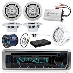 BOAT SOUND SYSTEM PACKAGE Kenwood Marine Bluetooth Receiver