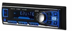 BOSS Single Din USB AUX Radio Car Stereo Receiver Audio Blue