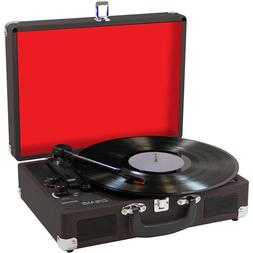 BRAND NEW - Craig Stereo Suitcase Turntable System Record Pl