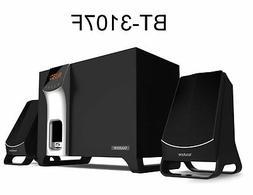 BT-3107F 2.1 Speaker System - 14 W RMS - Wireless Speaker -