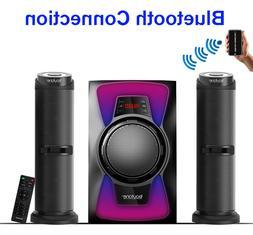 Boytone 2.1 CHANNEL BLUETOOTH SPEAKER SHELF STEREO SYSTEM, L