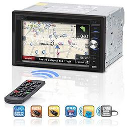 BOSS AUDIO BV9384NV Double DIN 6.2 inch Touchscreen DVD Play