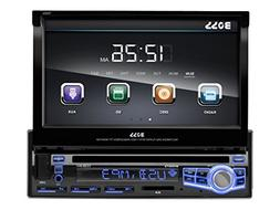 BOSS AUDIO BV9973 Single-DIN 7 inch Motorized Touchscreen DV