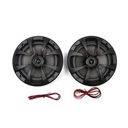 uxcell 2Pcs Car Audio System 100W 6.5 inches Coaxial Speaker