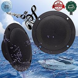 Car Boat Waterproof Marine Speakers 2-Way Full Range Audio S