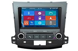 Crusade Car DVD Player for Mitsubishi Outlander 2007-2013 Su