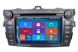 Crusade Car DVD Player for Toyota Corolla 2006-2011 Support