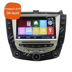 Car DVD Player GPS Navigation For Honda Accord 7th 2003-2007
