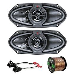 "Car Speaker Package Of 2x Kenwood KFC415C 320 Watt 4x10"" 160"