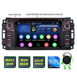 JOYING Car Stereo 4GB + 64GB Android 8.0 6.2 inch Single Din