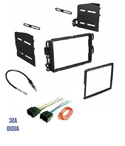 ASC Car Stereo Dash Kit, Wire Harness, and Antenna Adapter C