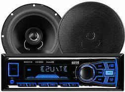 BOSS Audio Car Stereo Digital Media Receiver & Speaker Syste