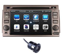 Crusade 7 Inch Car Stereo DVD Player for Hyundai Azera 2005-