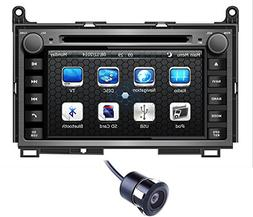 Crusade 7 Inch Car Stereo DVD Player for Toyota Venza 2009 2