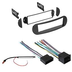 CAR Stereo Radio Dash Installation MOUNTING KIT W/Wiring Har