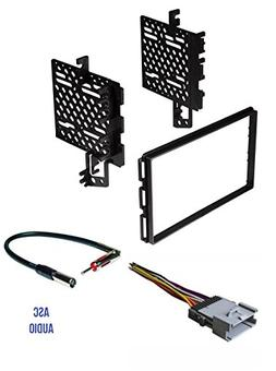 ASC Car Stereo Radio Install Dash Kit, Wire Harness, and Ant