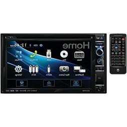 Car Stereo Receiver Bluetooth 6.2 inch CD DVD AUX USB Stereo