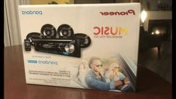Pioneer Car Stereo Receiver With Built-In Bluetooth And 4 Sp