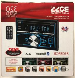 Boss Audio Car Stereo Receivers Systems 850BRGB Boss Audio B