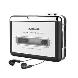 Cassette to MP3 Converter, Dansrueus Upgraded Version USB Ca