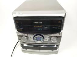 Sharp CD-C612 Stereo System Only No Speakers CD and Tape Wor