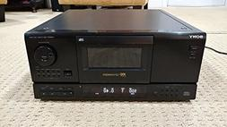 Sony CDP-CX153 100 CD Deck Changer Compact Disk Player NO RE