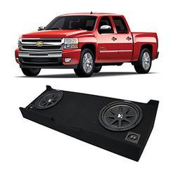 Fits 2007-2013 Chevy Silverado Crew Cab Truck Kicker Comp C1